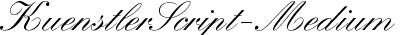 KuenstlerScript-Medium