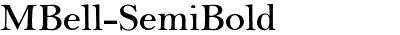 MBell-SemiBold