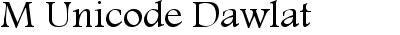 M Unicode Dawlat