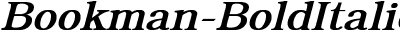 Bookman Bold Italic
