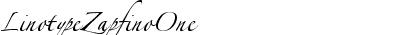 LinotypeZapfinoOne