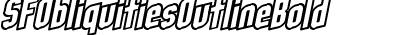 SFObliquitiesOutlineBold