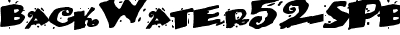BackWater52-SPBold