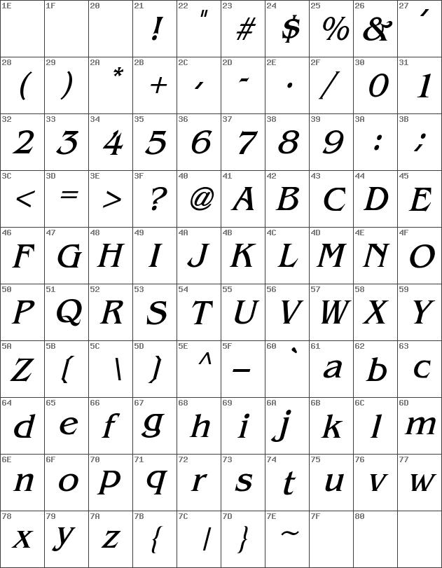 Benguiat-Italic