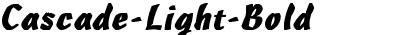 Cascade-Light Bold
