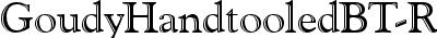 GoudyHandtooledBT-Regular