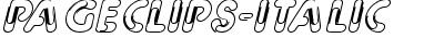 PageClips-Italic