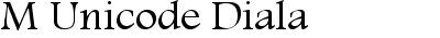 M Unicode Diala