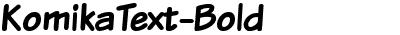 KomikaText-Bold