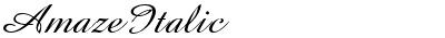 Amaze Italic