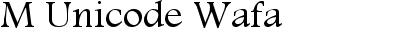 M Unicode Wafa