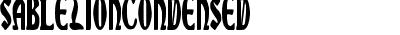 SableLionCondensed
