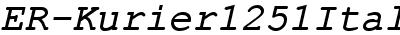 ER-Kurier1251Italic
