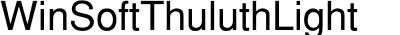 WinSoftThuluthLight