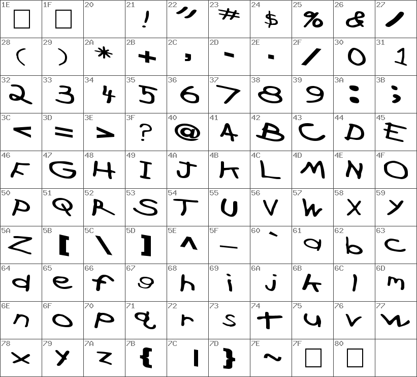 CrossFireFont-Ext