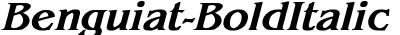 Benguiat-BoldItalic