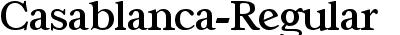 Casablanca-Regular