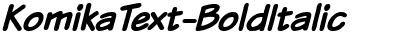 KomikaText-BoldItalic