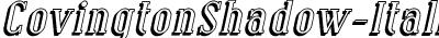 CovingtonShadow-Italic