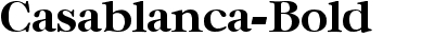 Casablanca Bold
