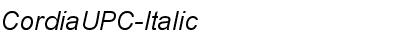 CordiaUPC-Italic