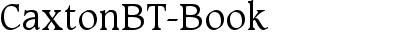 CaxtonBT-Book