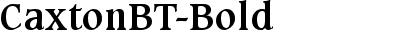 CaxtonBT-Bold