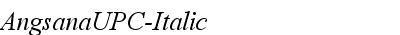 AngsanaUPC-Italic