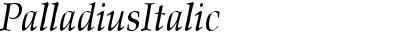 Palladius  Italic