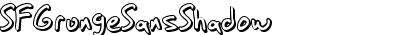 SF Grunge Sans Shadow