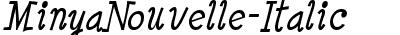 MinyaNouvelle-Italic