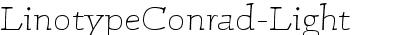 LinotypeConrad-Light