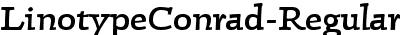 LinotypeConrad-Regular