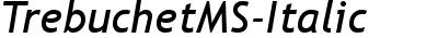 TrebuchetMS-Italic