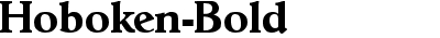 Hoboken Bold DB