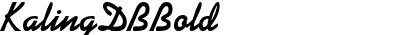 KalingDB Bold