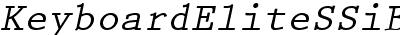 Keyboard Elite SSi Bold Italic