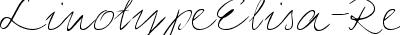 LinotypeElisa-Regular