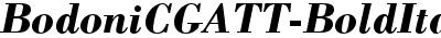 BodoniCGATT-BoldItalic