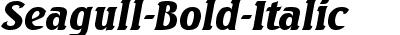 Seagull-Bold-Italic