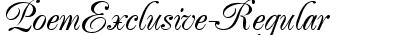 PoemExclusive-Regular