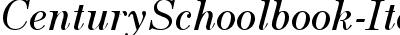 CenturySchoolbook-Italic