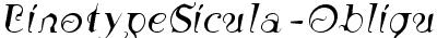 LinotypeSicula-Oblique