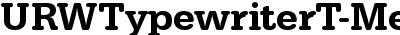 URWTypewriterT-Medi