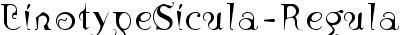 Linotype Sicula