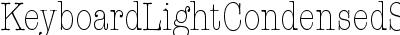 Keyboard Light Condensed SSi Light Condensed