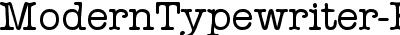 ModernTypewriter-Regular
