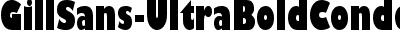 GillSans-UltraBoldCondens...