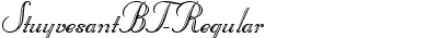 StuyvesantBT-Regular
