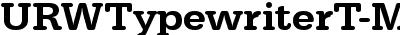 URWTypewriterT-MediWide
